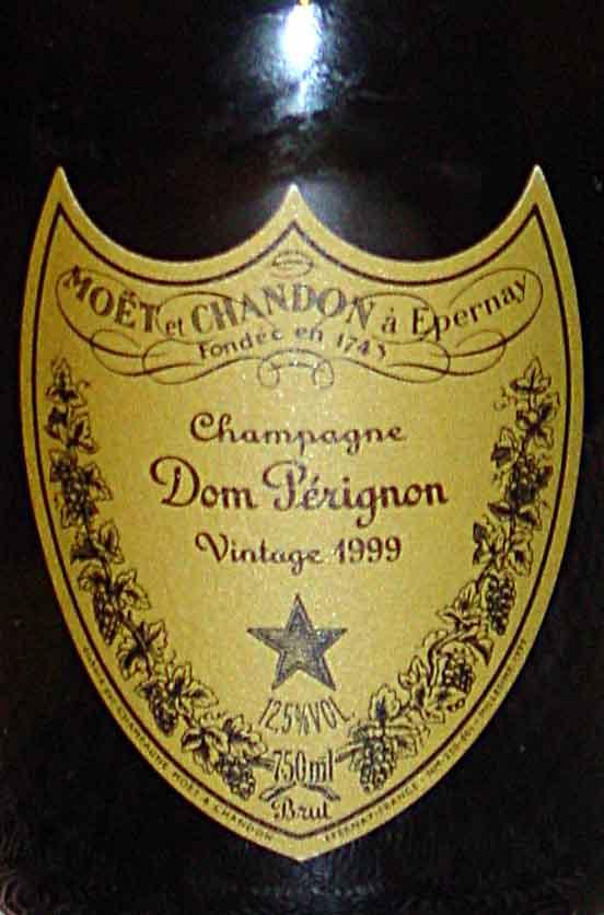 dom perignon vintage 1999
